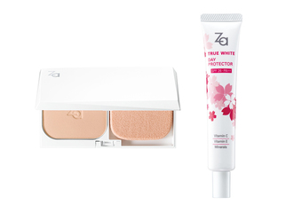 Za - 歡慶20周年 底粧專家Za再添夏季新品 「美白煥顏兩用粉餅」 水感新登場