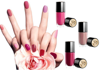 蘭蔻 -「法式光燦指甲油」絕對完美唇膏經典色,躍上指尖…