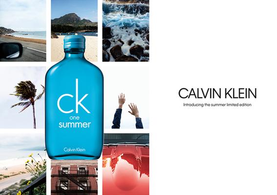 Calvin Klein -「ck one summer中性淡香水2018夏日限量版」1/12 搶先全球上市