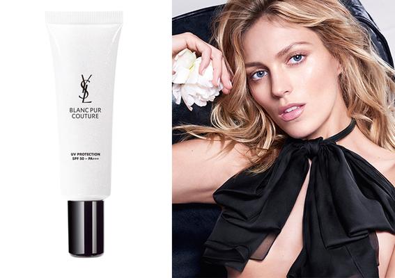 YSL - 都會女性的防護傘完美肌膚的守護者「綻白肌密牡丹保濕隔離乳SPF50/PA+++」5月上市