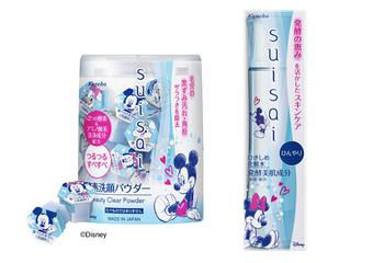 佳麗寶 - suisai 2018年全新限定款 經典米奇米妮甜蜜手牽手相依 人氣奇奇與蒂蒂首次加入 必須收藏!