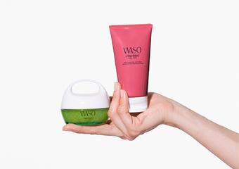 資生堂國際櫃 - WASO 秒速急救修護雙面膜 源源不絕修護能量 還原自然健康美肌