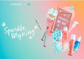 LANEIGE - Sparkle My Way 閃耀ME光芒 『玻璃誘光蜜唇膏』上市