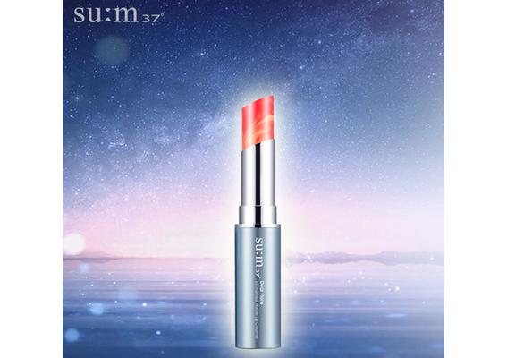 su:m37° - 絕美夢幻的大理石雙色唇膏,給妳最滋潤的美唇「吻我吧水潤大理石炫紋唇膏」限量發售
