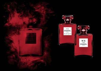 香奈兒 - N°5紅色限定版 香水中絕無僅有且最獨特款 紅色必然之選