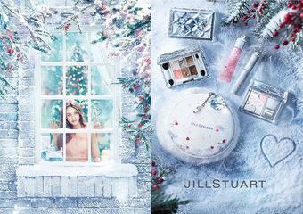 JILL STUART - 聖誕限定愛戀雪舞彩粧組,「誕生石潤唇彩」2018年11月限量新品上市