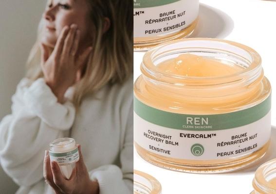 """REN - 「水嫩舒緩全能修護晚霜」,從夜晚開啟馭""""膚""""能量"""