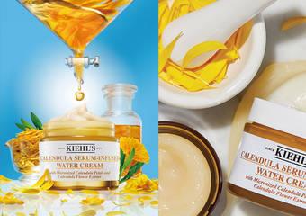 Kiehl's - 明星「金盞花家族」再出擊!全新「神奇金盞花爆水霜」重磅上市