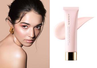 SUQQU - 最豪華血色粧前乳誕生 「晶采極潤粧前乳」   奶油底粧下的高級內衣