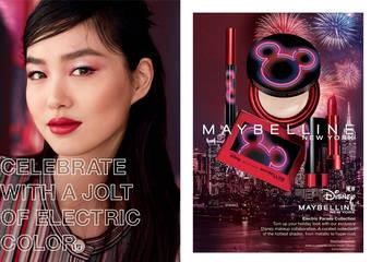 MAYBELLINE - 2020年迪士尼限定彩妝系列限量上市 鼠年限定必收藏!霓光米奇包裝超吸睛
