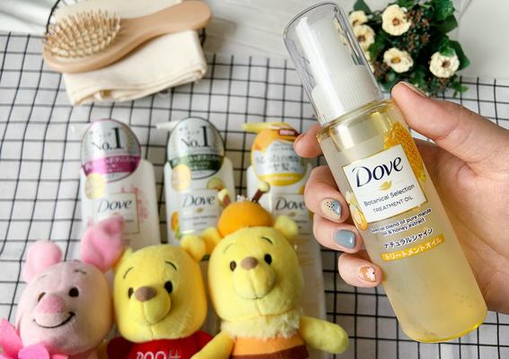 PRDove 多芬 - 史上最療癒~小熊維尼陪妳用蜂蜜安瓶滋養出柔順亮澤髮!