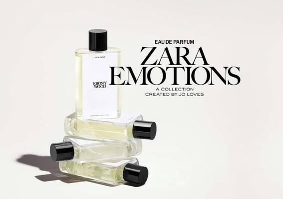 ZARA - 與 Jo Malone 創辦人自有香水品牌 Jo Loves 首度合作!汲取時裝靈感,講述香味的風景故事