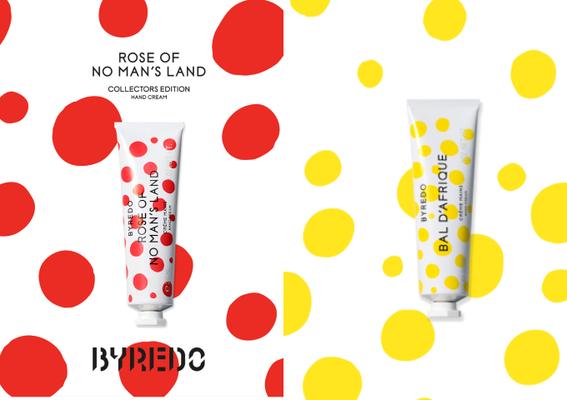 BYREDO - 全新上市2021珍藏版限量護手霜 趣味性十足的彩色波卡點 活潑詮釋三款經典香氣