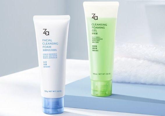 Za - 熱銷22年卸粧蜜 經典新升級  最強白泥洗面乳 新上市!