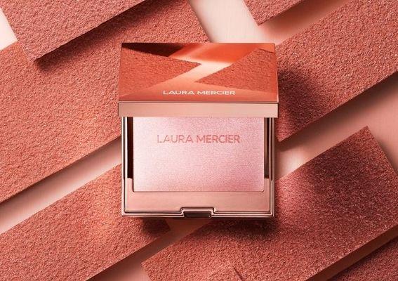 LAURA MERCIER 蘿拉蜜思 - 全台最猖狂開幕優惠  新品玫瑰光燦訂製高光餅只送不賣 !