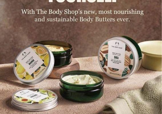 The Body Shop 美體小舖 - 高效保濕舒潤身心 寵愛每個專屬時刻 同場加映「酪梨潤澤身體系列」給予肌膚天然呵護