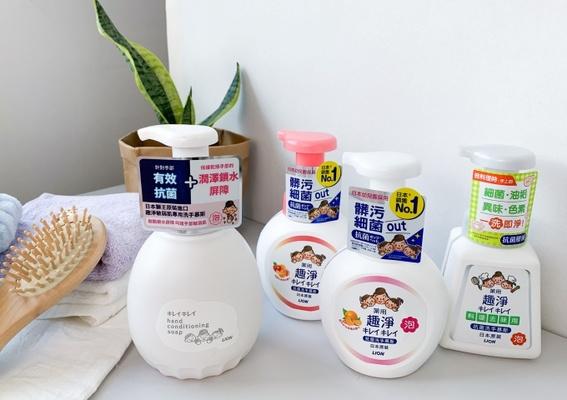 PRLION Kirei-kirei 日本獅王趣淨 - 洗手洗到怕?敏弱肌專用洗手慕斯來解救你了,跟乾荒說再見吧!