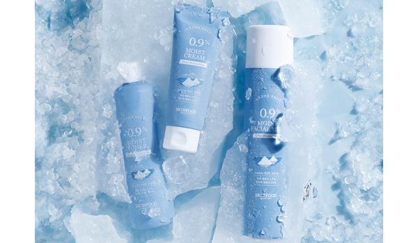 今年冬季,SKINFOOD獻上為敏感肌設計的保濕獻禮>>0.9肌本完美冰河海鹽系列
