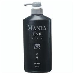 男仕沐浴清潔產品-炭沐浴/洗髮乳