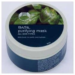 The Body Shop 美體小舖 清潔面膜-羅勒淨化保濕面膜