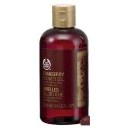 The Body Shop 美體小舖 聖誕限量系列-蔓越莓沐浴膠 Cranberry Shower Gel