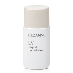 CEZANNE 粉底液-防曬定妝粉底液SPF25 PA++