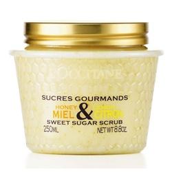 L'OCCITANE 歐舒丹 蜂蜜檸檬系列-蜂蜜檸檬去角質霜