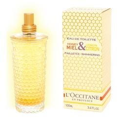 L'OCCITANE 歐舒丹 女性香氛-蜂蜜檸檬珠光淡香水 Shimmering EDT