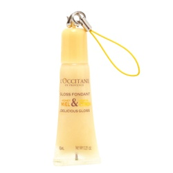 L'OCCITANE 歐舒丹 蜂蜜檸檬系列-蜂蜜檸檬護唇蜜 Delicious Gloss