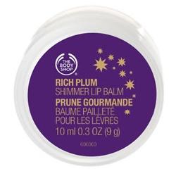 The Body Shop 美體小舖 聖誕限量系列-聖誕紫莓護唇油 Rich Plum Shimmer Lip Balm