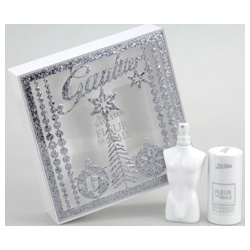 Jean Paul Gaultier 高堤耶 男仕香氛-白色高堤耶雪銀聖誕禮盒