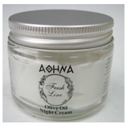 Fresh Line 乳霜-雅典娜橄欖油滋潤晚霜