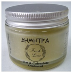 Fresh Line 狄米特-狄米特 燕麥&金盞花膏 Oatmental and calendula ointment