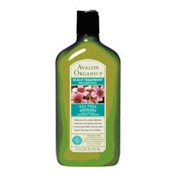 AVALON ORGANICS 經典綠瓶系列-茶樹精油頭皮護理洗髮精