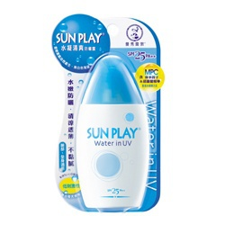 水凝清爽防曬露SPF25.PA++ Mentholatum Water in UV SPF25 PA++