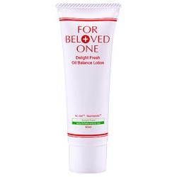 FOR BELOVED ONE 寵愛之名 乳液-清爽快樂控油水凝乳 Delight Fresh Oil Balance Lotion