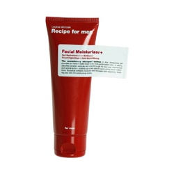 Recipe for men 保養系列-深層持久保濕乳 Facial Moisturizer+