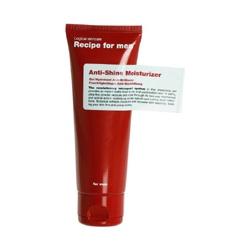 Recipe for men 保養系列-活力控油緊緻乳 Anti-Shine Moisturizer