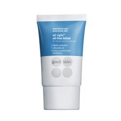 全制痘無油脂保水乳液 good skin all right oil-free lotion