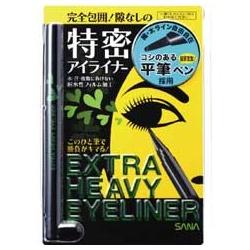 SANA 莎娜 速捷系列-魔力電眼眼線筆(濃密黑) EXTRA HEAVY EYELINER