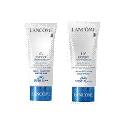 LANCOME 蘭蔻 防曬‧隔離-UV瞬白潤色隔離乳SPF50/PA+++ UV EXPERT DNA MAKE UP BASE SPF50/PA+++