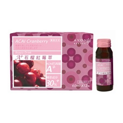 營養補給食品產品-康采A+石榴紅苺萃