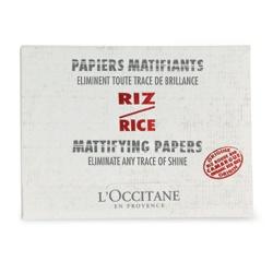 L'OCCITANE 歐舒丹 臉部保養用具-紅米吸油面紙