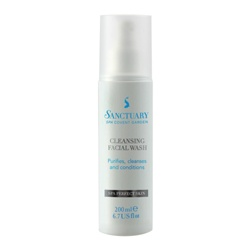 Sanctuary 聖活泉 肌膚保養品-深層潔淨洗面乳 Cleansing Facial Wash
