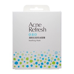 清爽抗痘控油面膜 Acne Refresh Soothing Mask