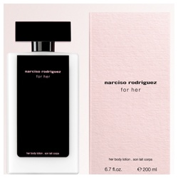 narciso rodriguez for her-美體乳