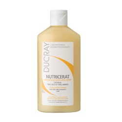 DUCRAY 護蕾 洗髮-婆羅果油柔順洗髮精(受損毛燥染燙髮質適用) Ducray Nutricerat shampoo
