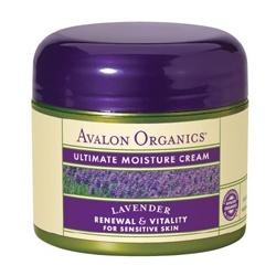 AVALON ORGANICS 薰衣草舒緩護膚系列-薰衣草極致滋潤晚霜 Lavender Ultimate Moisture Cream