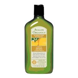 AVALON ORGANICS 經典綠瓶系列-檸檬淨化洗髮精 Clarifying Lemon Shampoo