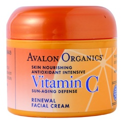 AVALON ORGANICS 乳霜-維他命C煥顏乳霜 Vitamin C Renewal Facial Cream
